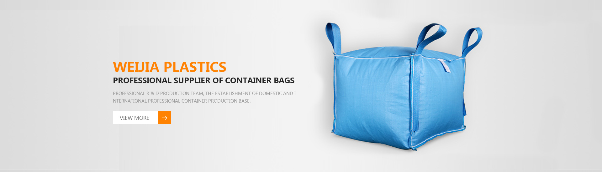 Weijia Plastics--Professional supplier of container bags